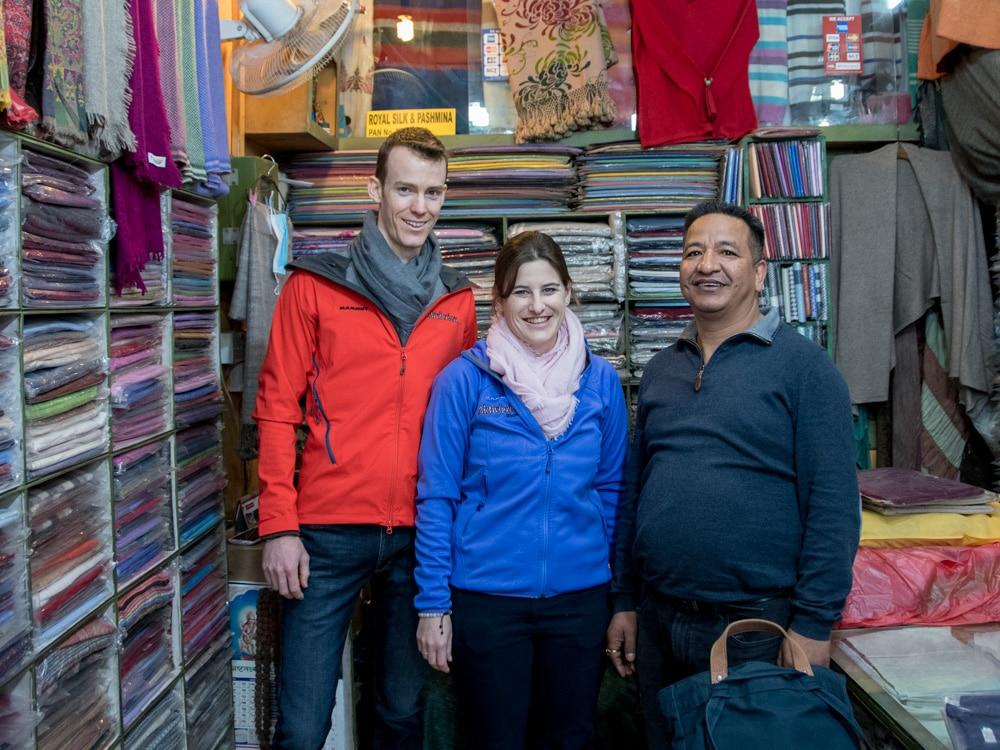 Carina Büchi zu Besuch in Nepal