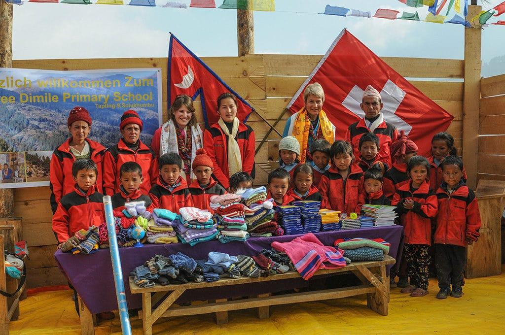 Carina Cashmere Hilfsprojekte in Nepal