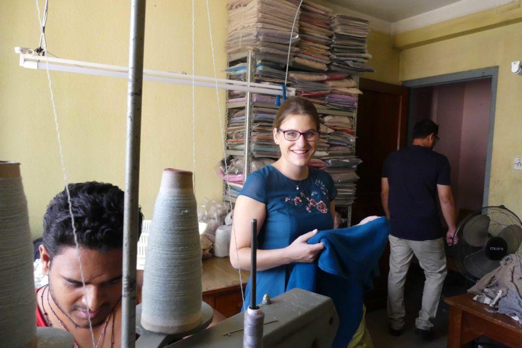 Kaschmir Produktion in Nepal